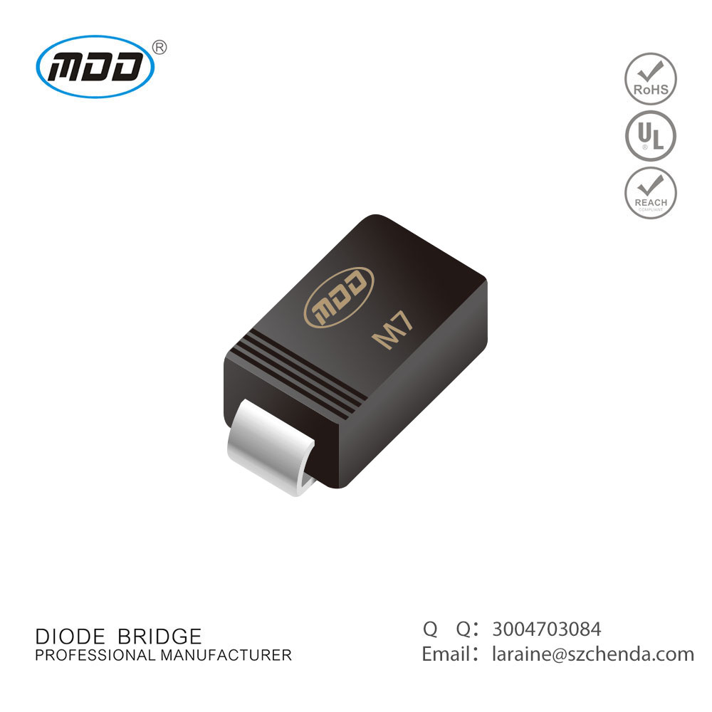 SMD Diode SMA Rectifier diode 1A 1000V M7