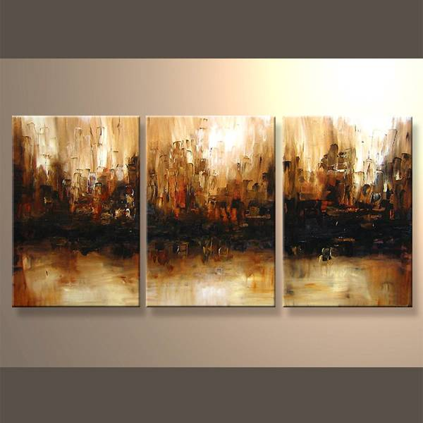 Wholesale handmade oil canvas painting for home decor
