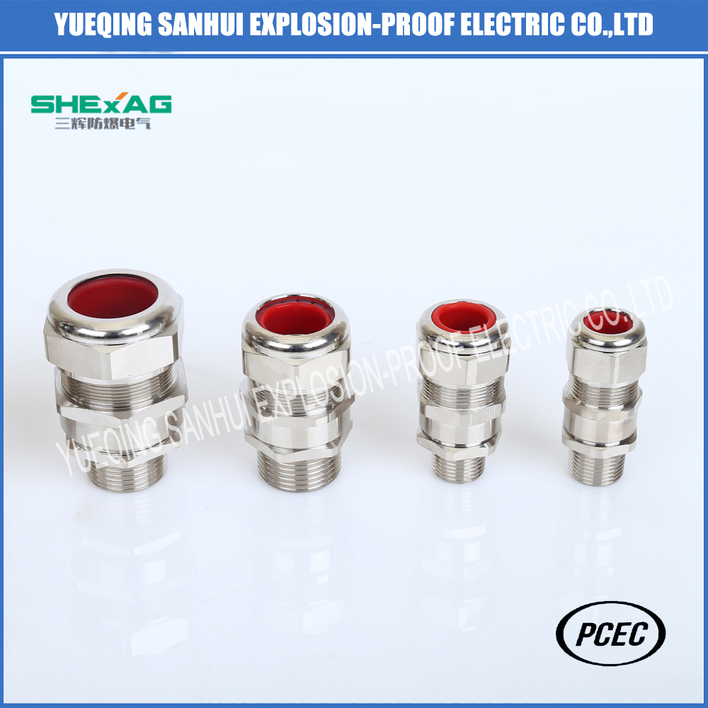 Hazardous Cable glands for all armored cable