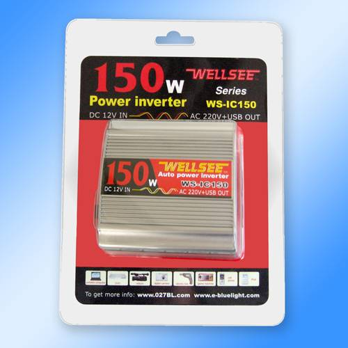 WELLSEE WS-IC150 12V 150W power inverter,dc to ac auto
