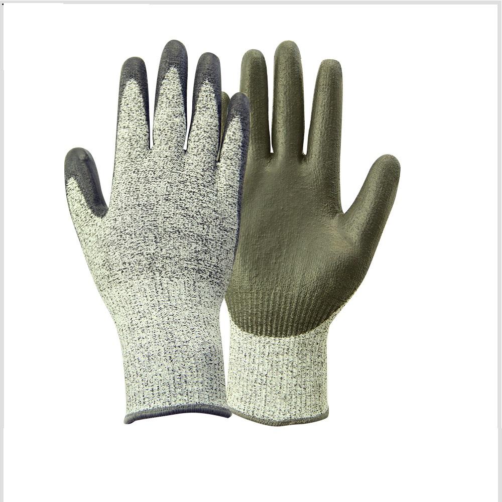 PU cutting gloves level 5