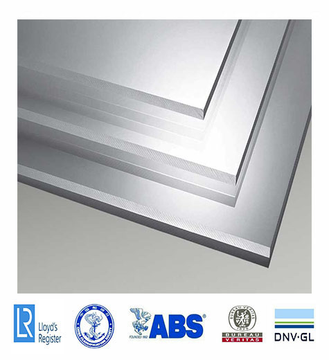 DNV marine grade thick 5083 h321 aluminium alloy plate for marine