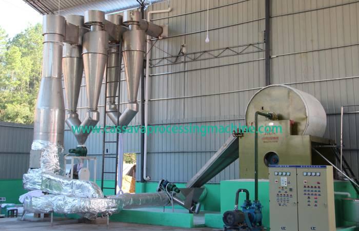 Cassava starch hydrocyclone machine
