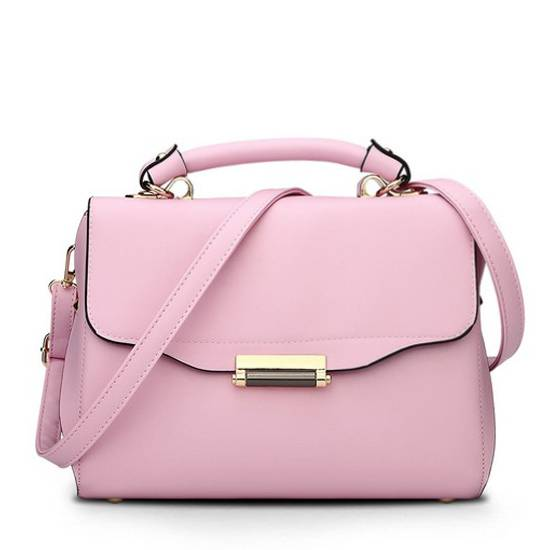 Multifunctional Candy Color Ladies Handbag (EHB023)