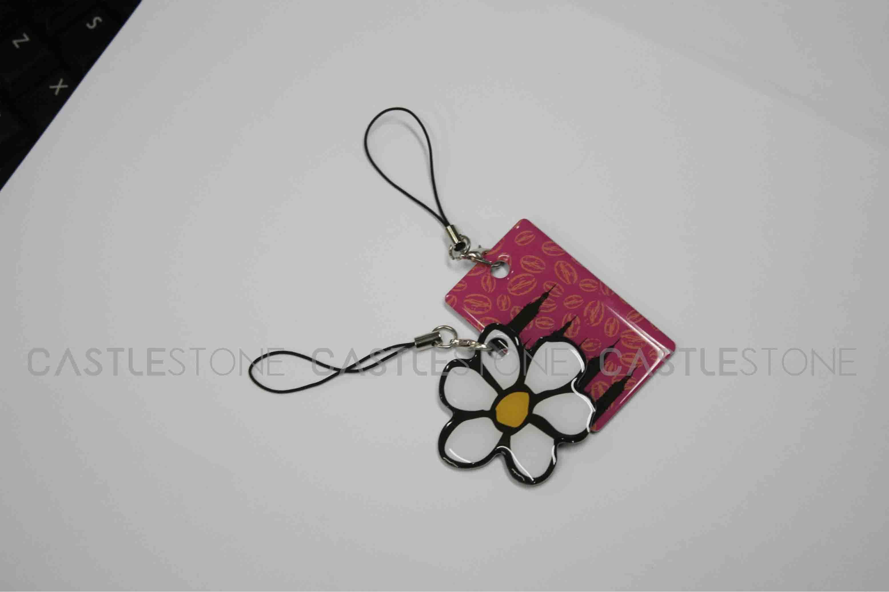 RFID Epoxy Keytags RFID Non-Standard Plastic Tag