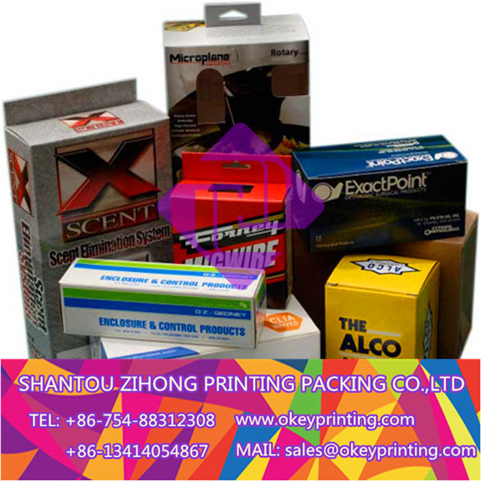 printing daily use product packaging box