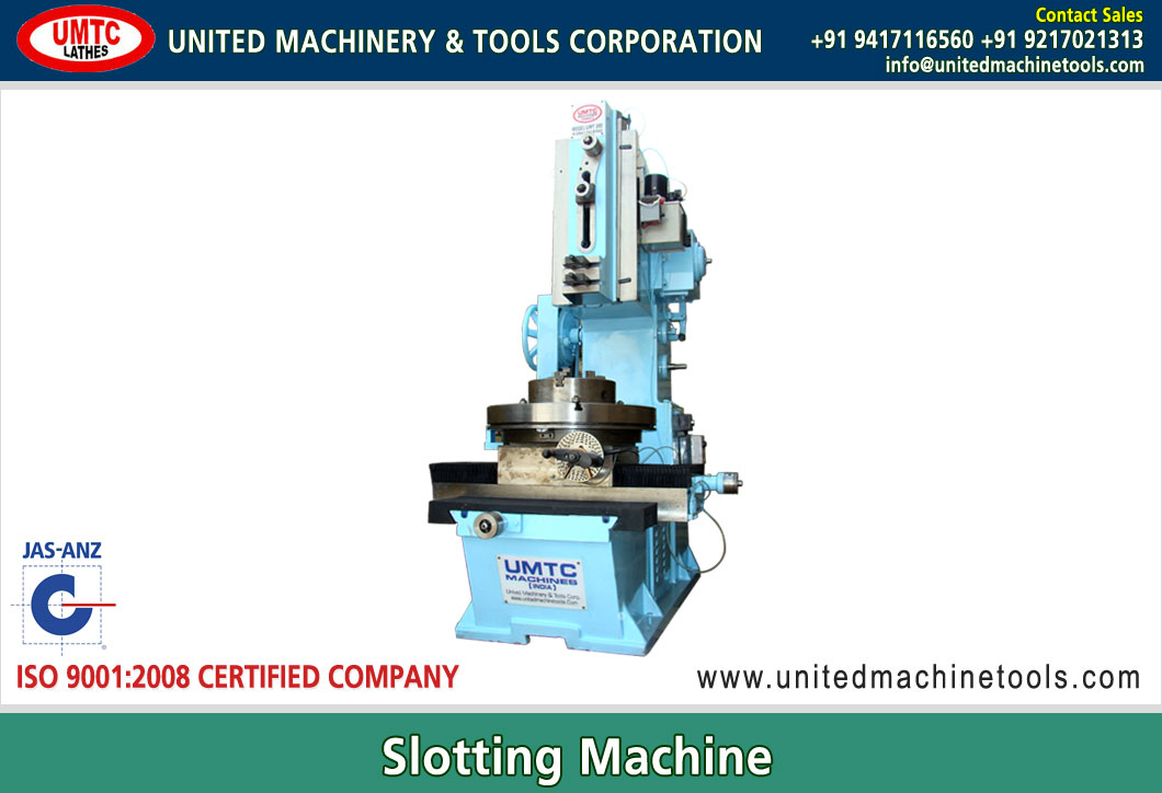 Slotting Machine Manufacturers Exporters in India Punjab Ludhiana