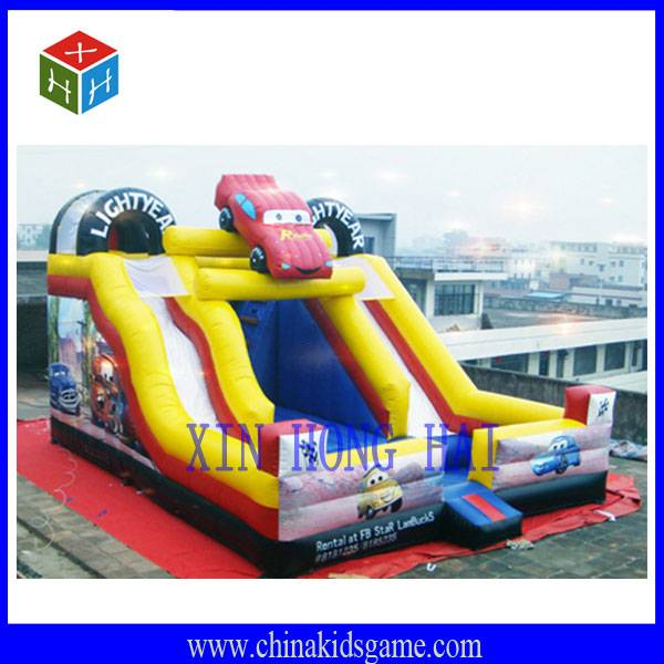 Good quality outdoor children playground, jumping car bouncer