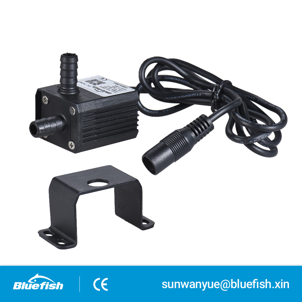 Quiet DC 12V Waterproof Brushless Submersible Water Amphibious Pumps for Fish Tank