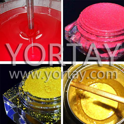 Pearlescent Pigmet for Decorative Paints--Yortay Pearl Pigment