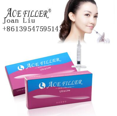 ACE Ultra 1ml injectable hyaluronic acid injection filler for sharpening chin