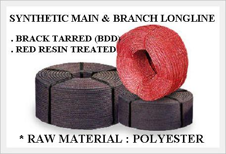 Synthetic polyester longline