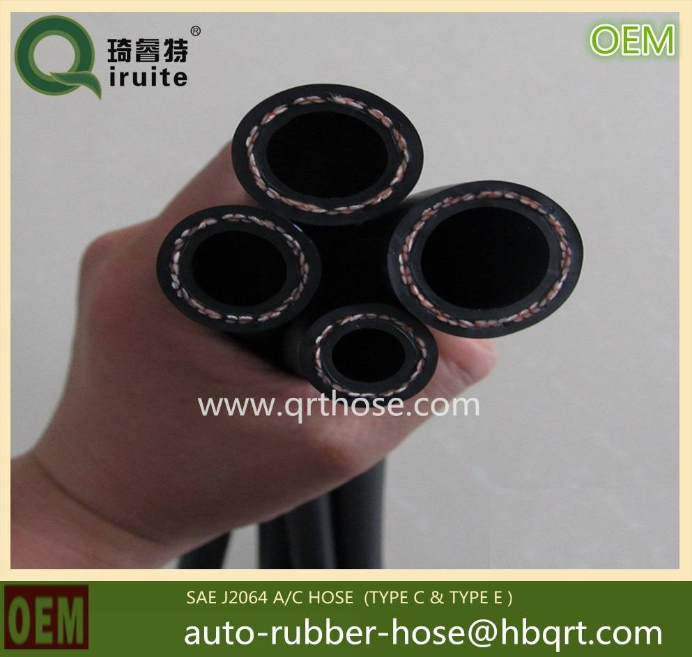 A/C refrigerant hose for automotive car