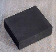 extruded graphite block, rod