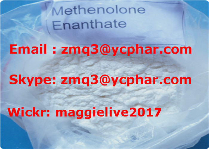 Highly Effective Anabolic Steroid Powder Methenolone Enanthate/Primobolan