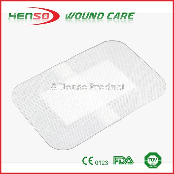 HENSO Surgical Sterile Adhesive Non Woven Wound Dressing