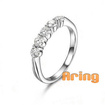 18k Gold Diamond Rings solid gold jewelry