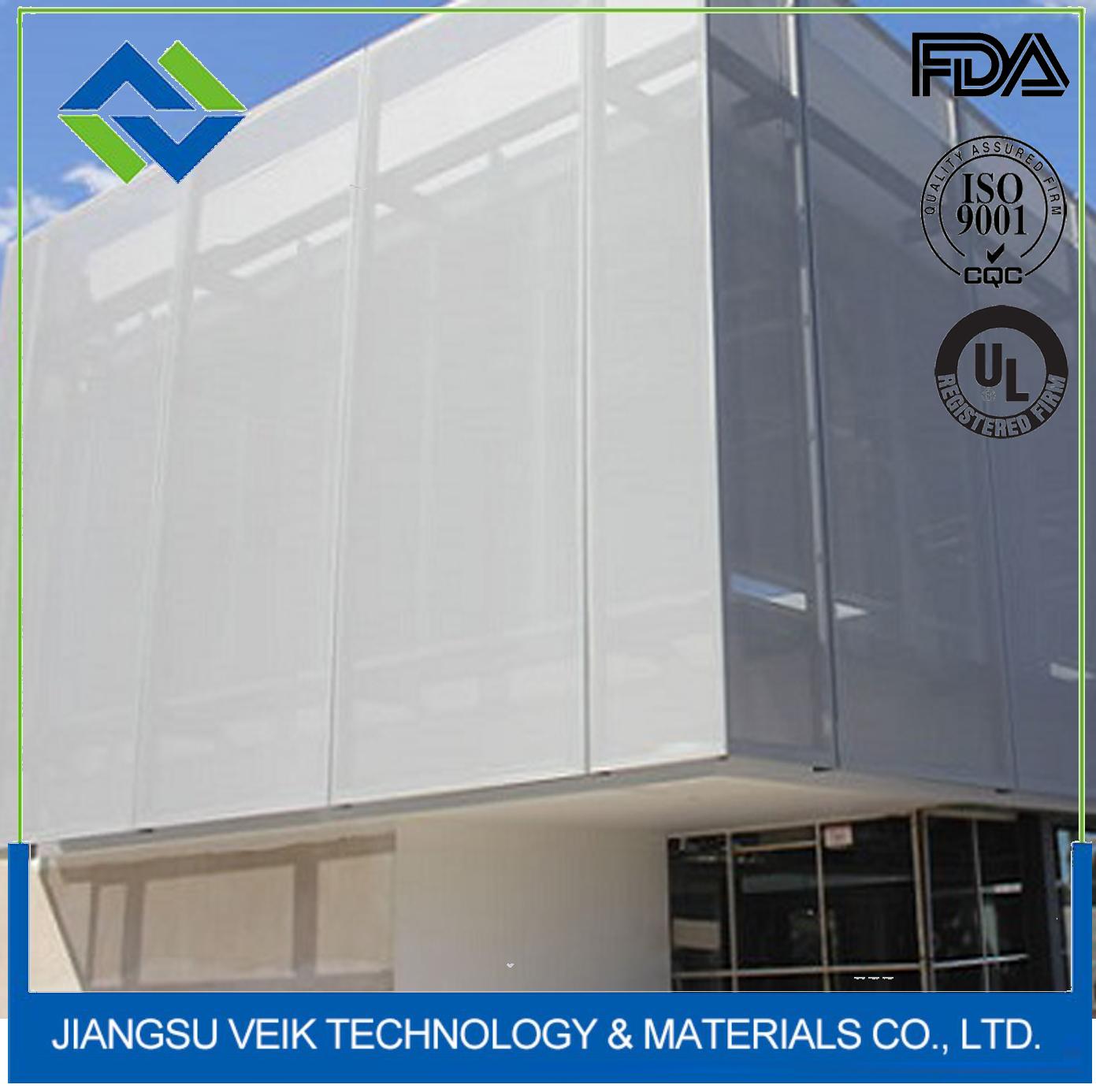 PTFE architectural textile membrane structure