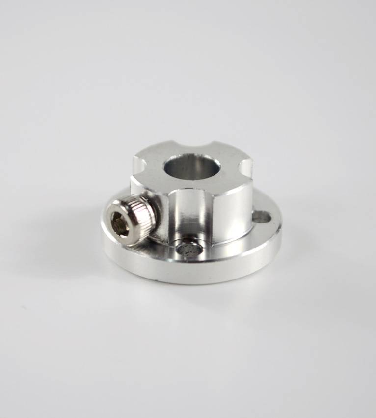 6mm Aluminum Hub for 48mm Aluminum Omni Wheel 18022