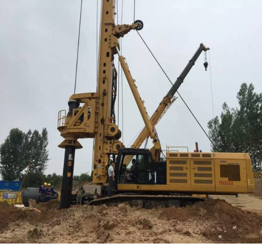 XCMG XR460 RotaryPiling Rig Accessiories Interlocking Friction Kelly Bar for Bauer Sunward Casagrand
