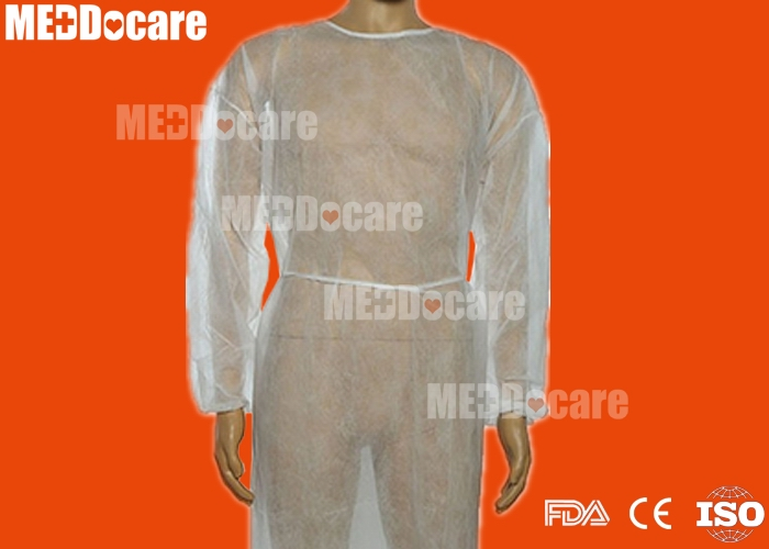 disposable health care medical non woven pp isolation gown