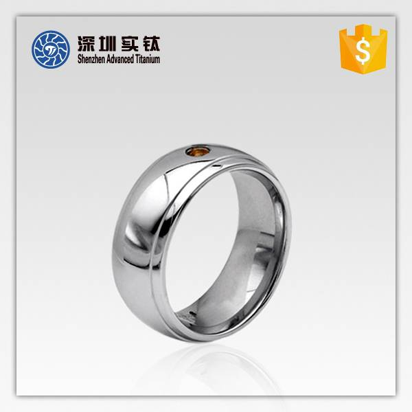 titanium and stainless steel finger rings on hot sale