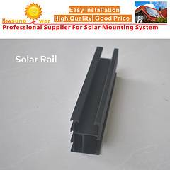 Solar Rails for PV Mounting Systems