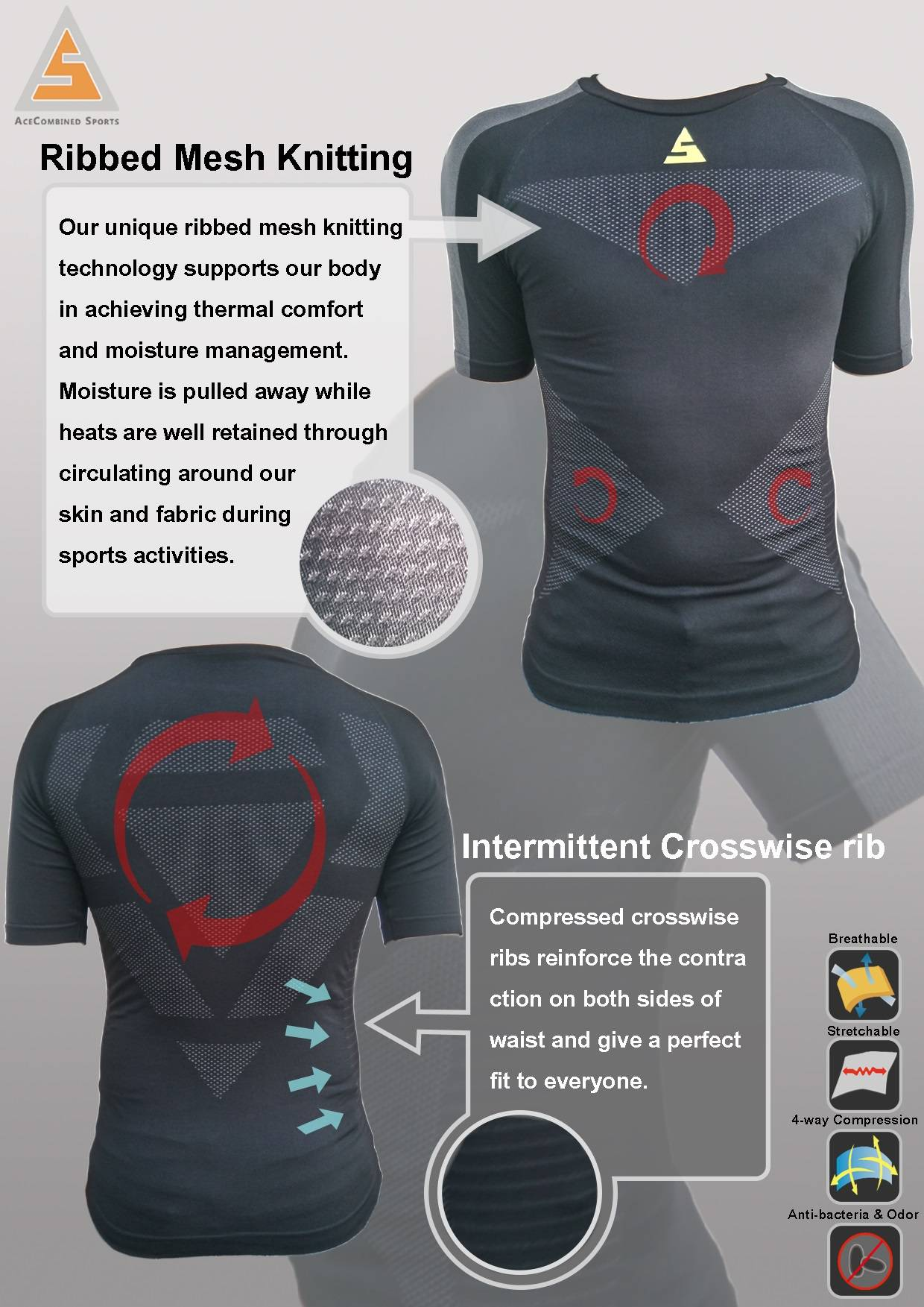 ACS Performance Seamless Shirt