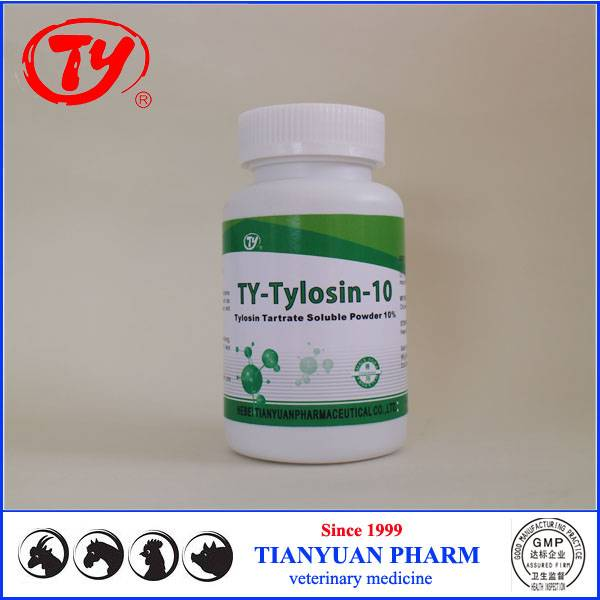 poultry medicine for respiratory Tylosin Tartrate Soluble Powder