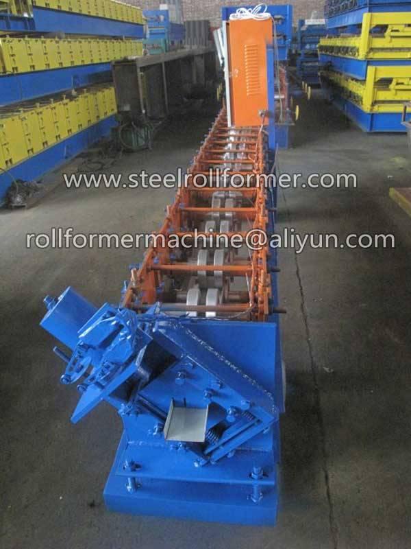 metal steel roll shutter door rolling machine