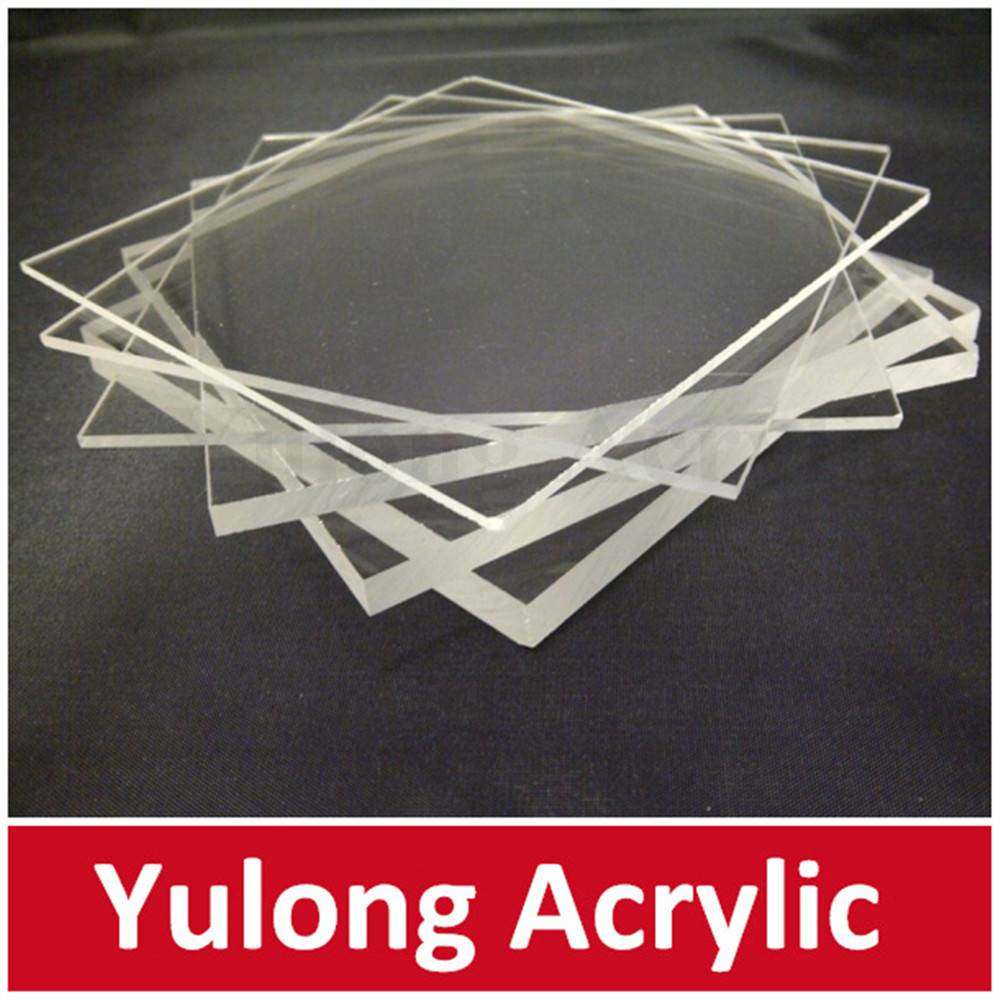 Laser cutting acrylic sheet for photo frame