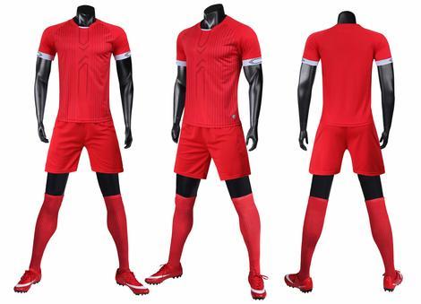Men soccer jerseys wholesale soccer uniforms diy new design football shirts LIB2003 football kits