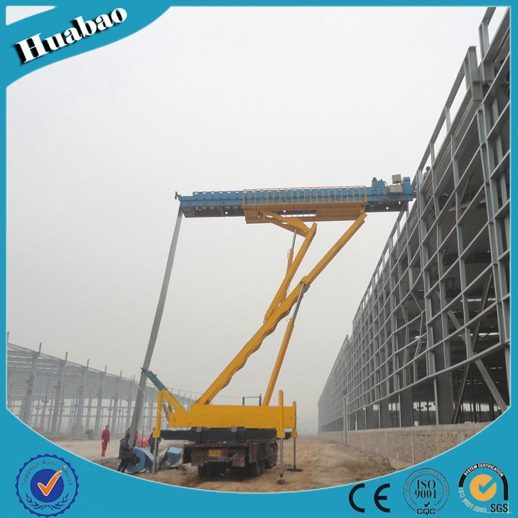 8T 14m high quality customized size multifunction hydraulic crane scale China