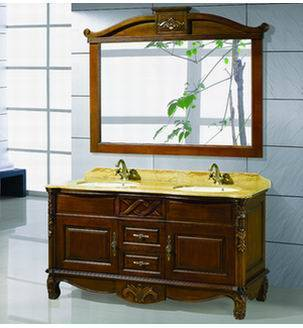 Classic Wooden Bathroom Cainet Vanity