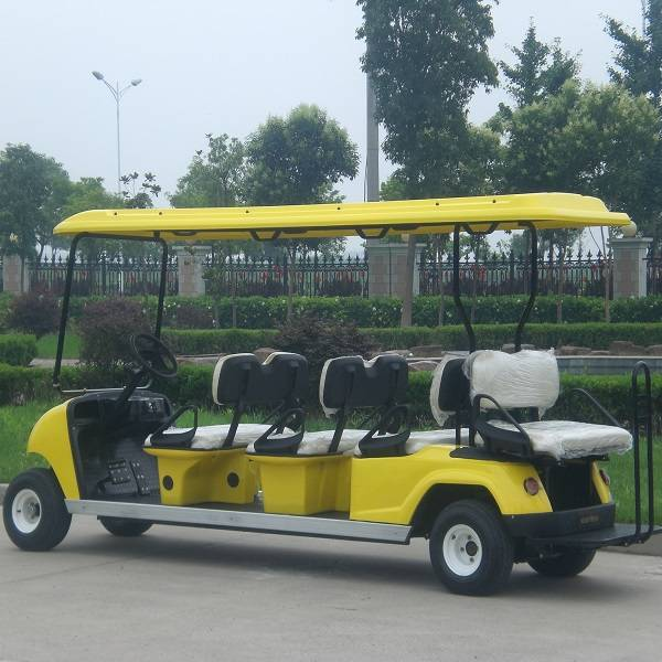 rear seater 8 seater electric cart for golf