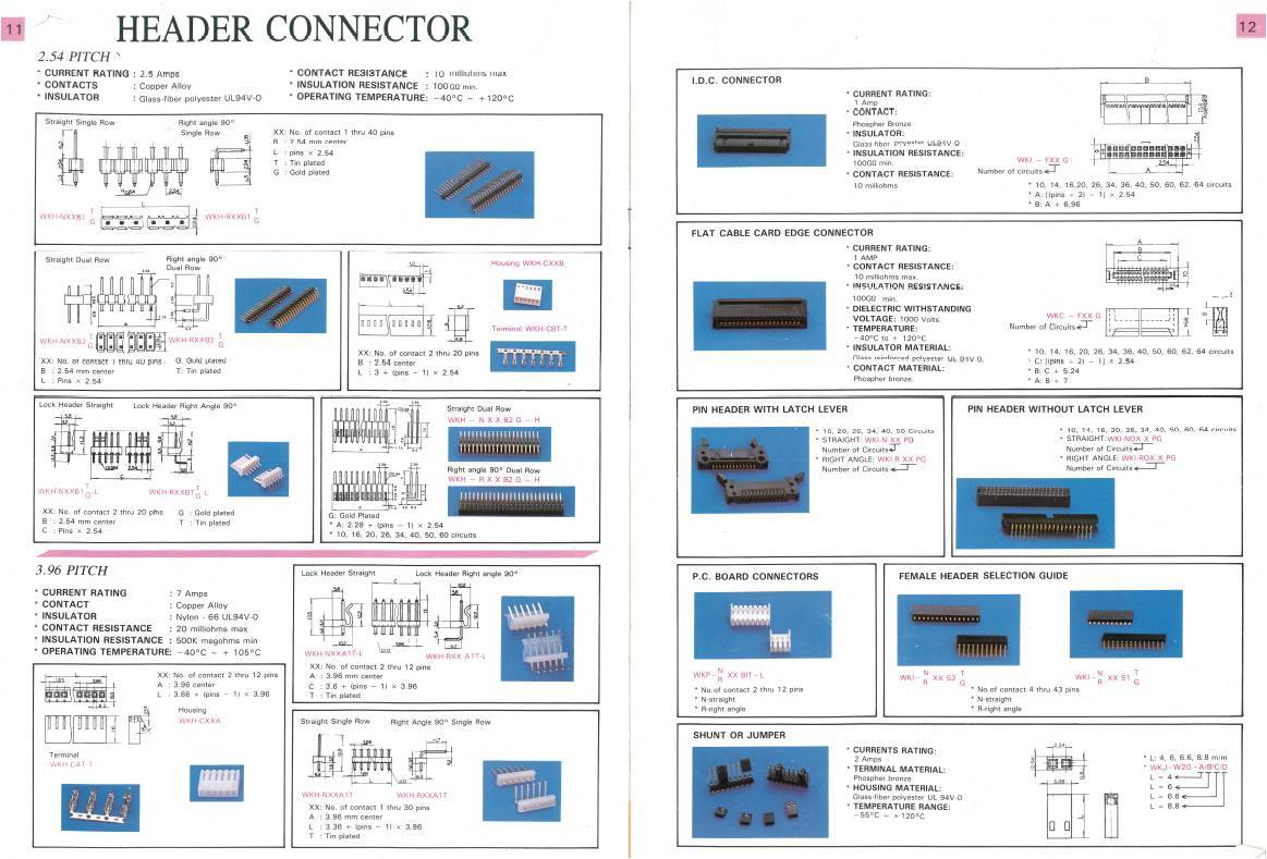 Header Connector