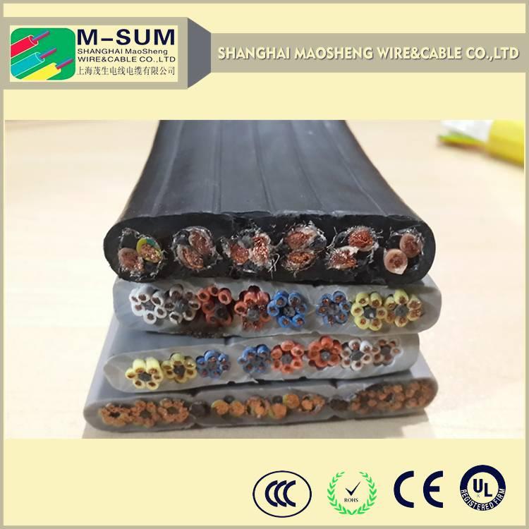 Non-Flexible Multi Cores copper Round 4*16mm Crane Cable,power cable for crane