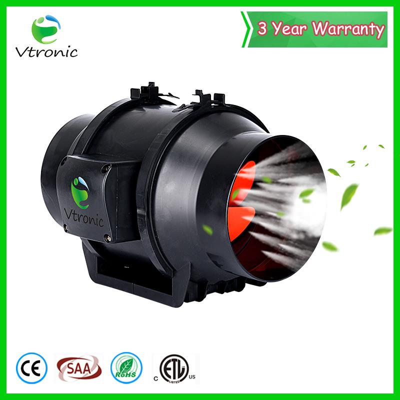 Blushless 50W 8 Inch EC motor Hydroponic Silent Duct Fan