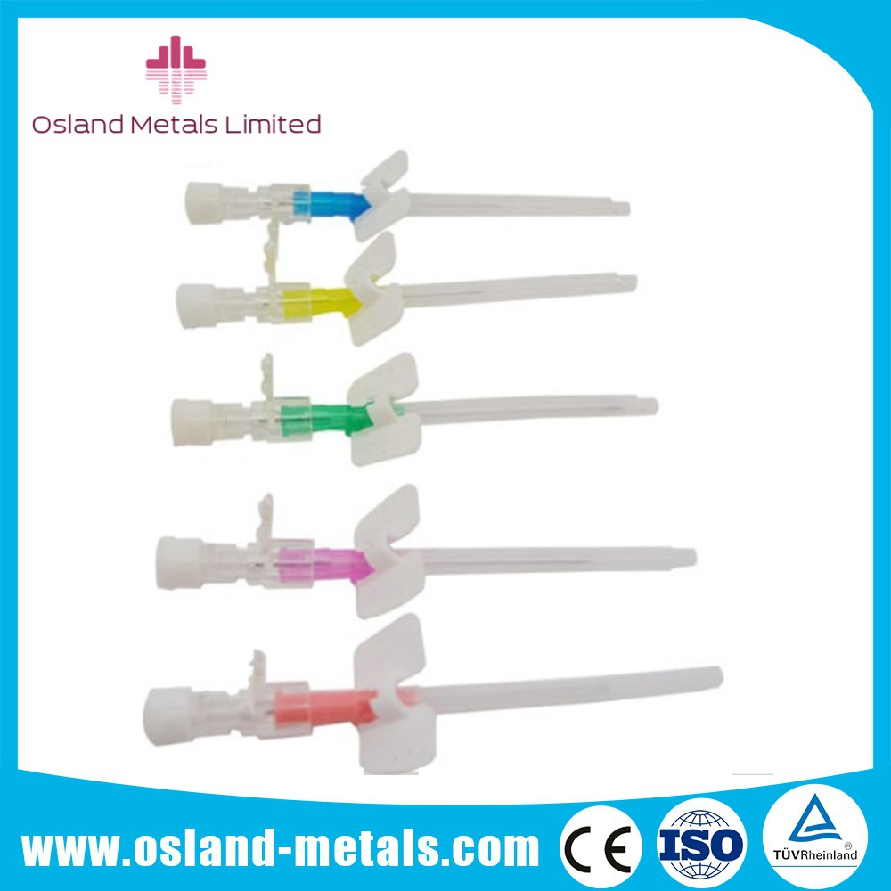 Intravenous Safety I.V. Cannula with Wings Disposable Medical Needles with Manufacturer Price of Hig