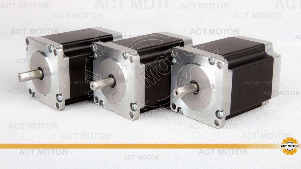 3PCS ACT Nema23 Stepper Motor 23HS8430D8P1-5 Single flat shaft