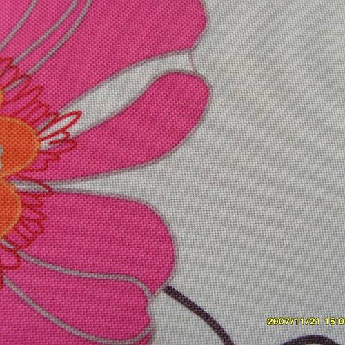 print fabric with PVC backing