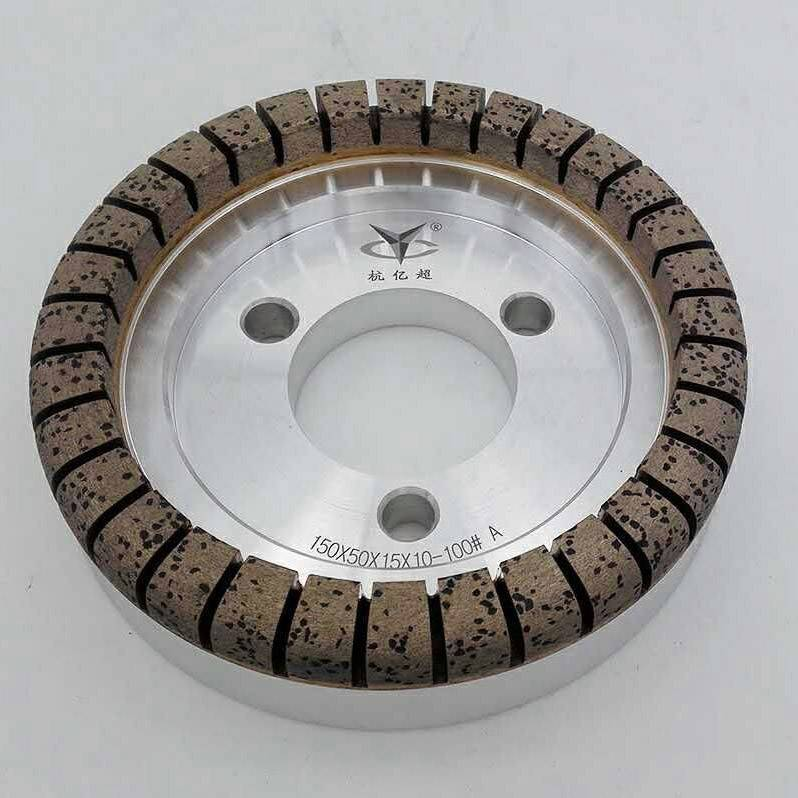 Cupulate full-tooth diamond wheel