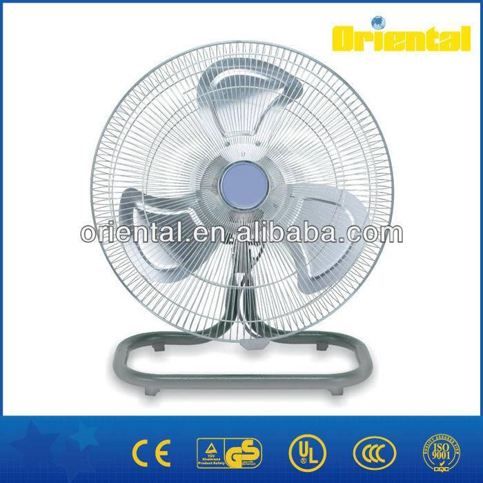 Powerful oscillating floor fan, industrial heavy duty table fan
