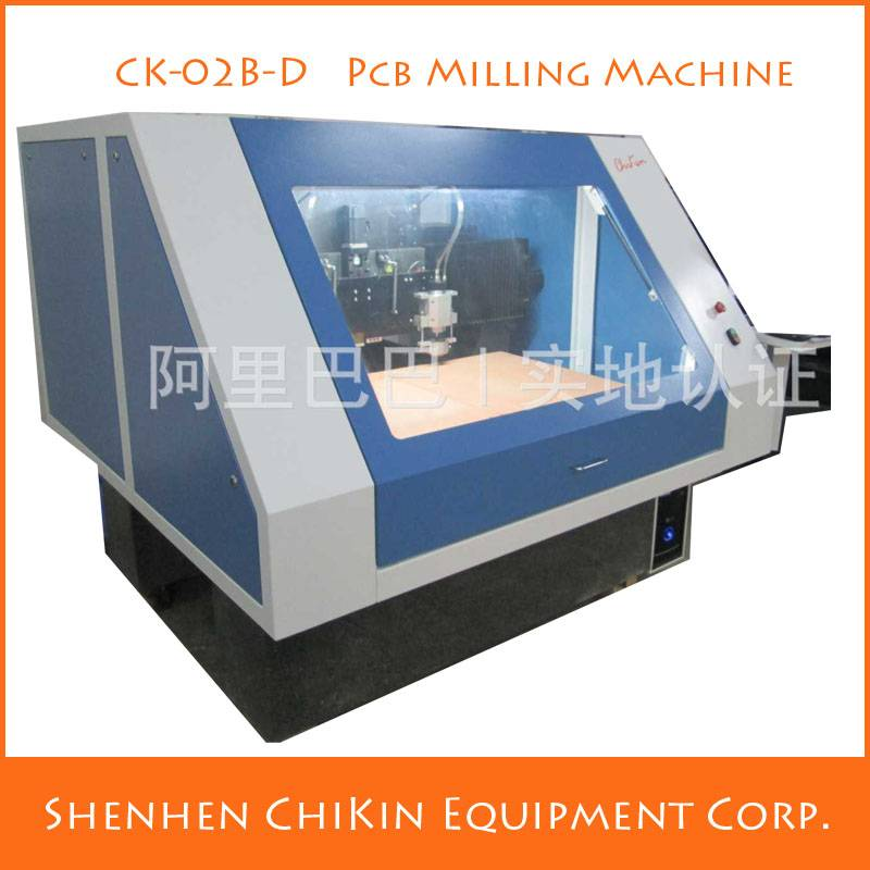 Low Cost PCB Milling Automation machine CNC Equipment English & Chinese Operating Interface in China