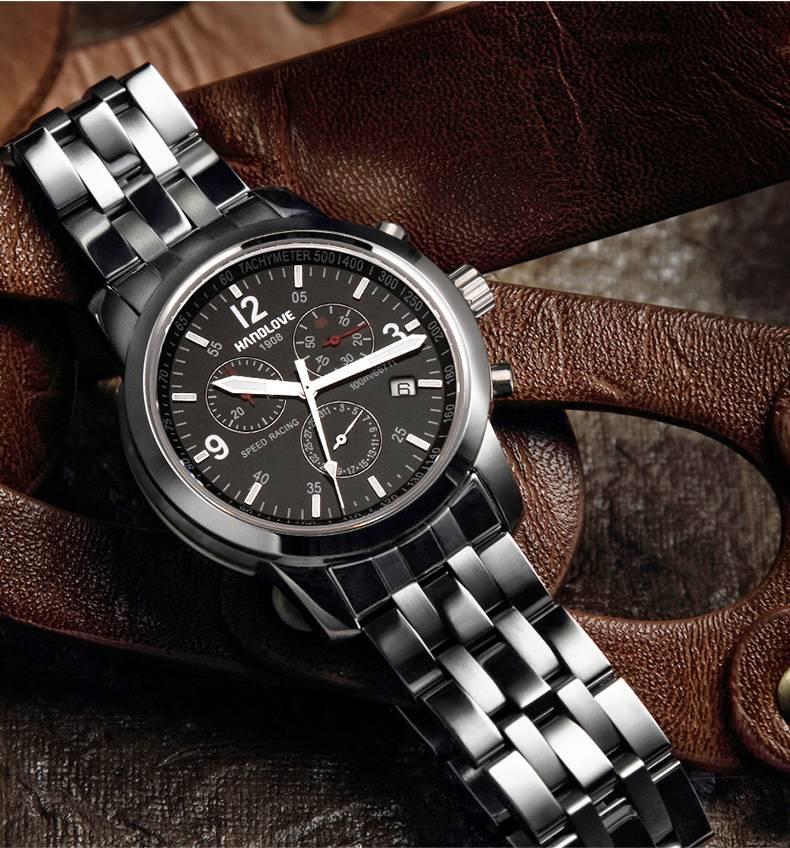 Handlove 7076 Speed Racing watch