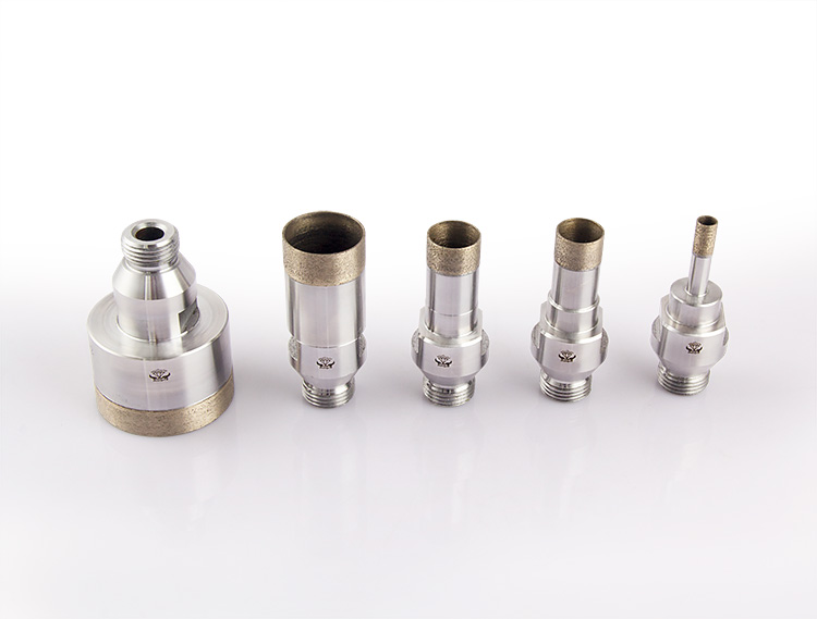 Thread head diamond glass drill bits ZR-002