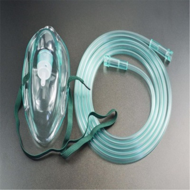 Medical Disposable Adult Oxygen Mask with Tube