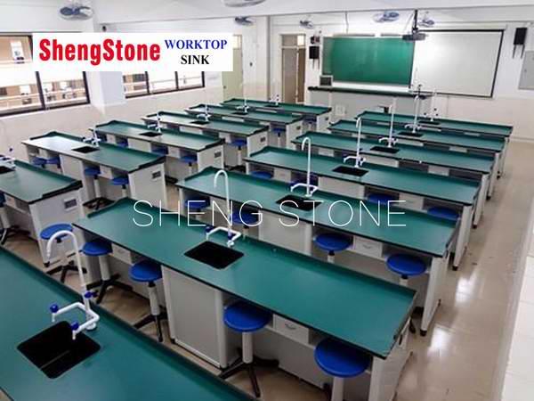 Wholesale custom-made laboratory phenolic furniture,Laboratory desks and chairs