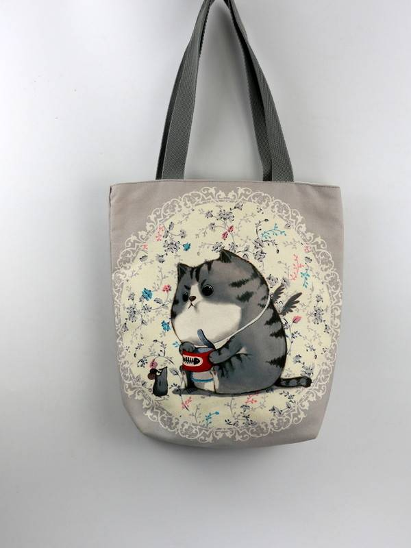 Eco Friendly Sublimated Cotton Bags