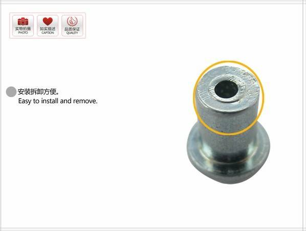 Stainless steel Studs for Bicycles/ Scooters/shoes